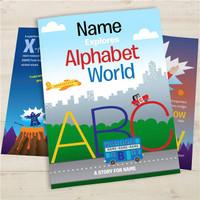 Personalized Kids Alphabet Book