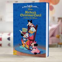 Personalized Disney Mickey's Christmas Carol StoryBook