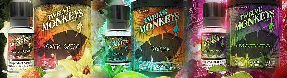 twelve monkeys e-liquids