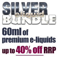 SILVER eliquid bundle - 60ml