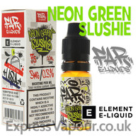 Neon Green Slushie - Far e-liquids by ELEMENT - 75% VG - 10ml