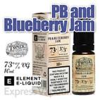 PB and Blueberry Jam - Tonix e-liquids by ELEMENT - 73% VG - 10ml