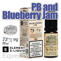 PB and Blueberry Jam - Tonix e-liquids by ELEMENT - 73% VG - 10ml