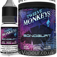BONOGURT - Twelve Monkeys e-liquid - 80% VG - 30ml