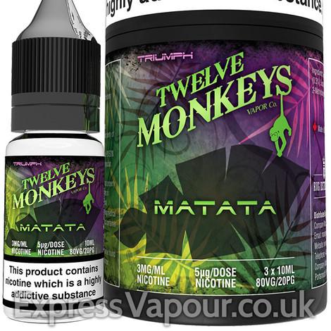 MATATA - Twelve Monkeys e-liquid - 80% VG - 30ml