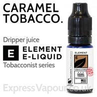 Caramel Tobacco - ELEMENT 80% VG e-Liquid - 10ml