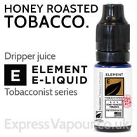 Honey Roasted Tobacco - ELEMENT 80% VG e-Liquid - 10ml