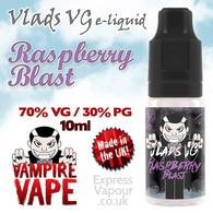 Raspberry Blast - VLADS VG - 70% VG - 10ml