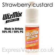 Strawberry Jam - by WizMix e-liquid - 50% VG - 10ml