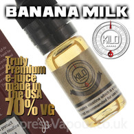 BANANA MILK - by KILO e-liquid - 70% VG - 30ml