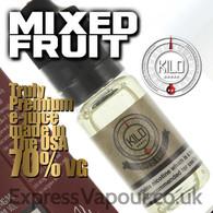 MIXED FRUIT - by KILO e-liquid - 70% VG