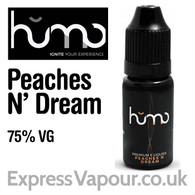 Peaches N' Dream by HUMO e-liquid - 75% VG - 10ml