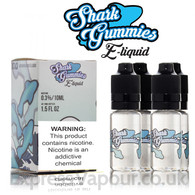 Blue Raspberry Shark Gummies e-liquids 70% VG 40ml