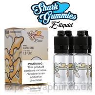 Peach Shark Gummies e-liquids 70% VG 40ml