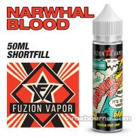 NARWHAL BLOOD - Fuzion Vapor e-liquids 65% VG 50ml
