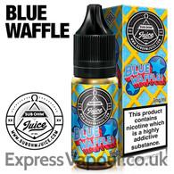 Blue Waffle Sub Ohm Juice e-liquid 80% VG 10ml