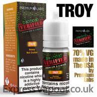 Troy - Decoded Verified e-liquid 70% VG 10ml