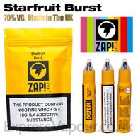 Starfruit Burst by ZAP Juice e-liquid 70% VG 30ml
