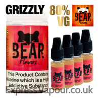 GRIZZLY - Bear Flavor e-liquid - 80% - 40ml
