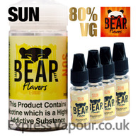 SUN - Bear Flavor e-liquid - 80% - 40ml