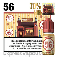 Recipe 56 - VaporWorks e-liquid - 70% - 30ml