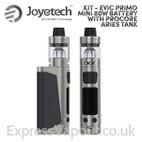 Vaping kit - Joyetech eVic Primo Mini 80w Battery with ProCore Aries Tank