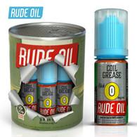 Coil Grease - Rude Oil e-liquid 80% VG 30ml