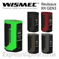 Wismec Reuleaux RX GEN3 300w Temperature Control box mod battery