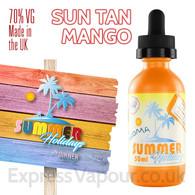 Sun Tan Mango - Summer Holidays e-liquids by Dinner Lady - 70% VG - 50ml