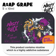 ASAP Grape - Nasty Juice e-liquid - 70% VG - 50ml