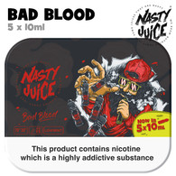 Bad Blood - Nasty Juice e-liquid - 70% VG - 50ml