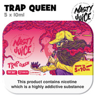 Trap Queen - Nasty Juice e-liquid - 70% VG - 50ml