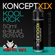 Kool Kick - Koncept XIX e-liquid - 80% VG - 50ml