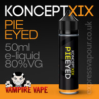 Pie Eyed - Koncept XIX e-liquid - 80% VG - 50ml