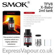 SMOK TFV8 X-Baby 2ml tank