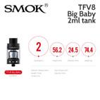 TFV8 Big Baby 2ml tank.
