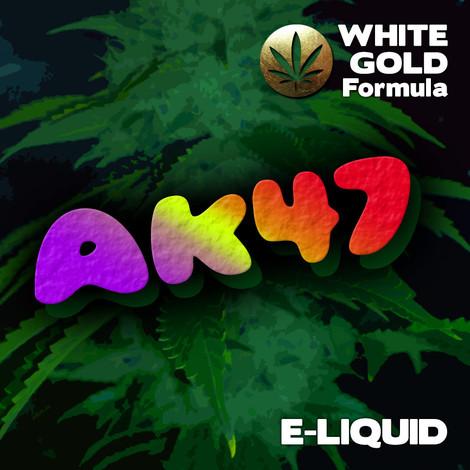 AK47 - White Gold Formula e-liquid 60% VG - 10ml