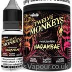 HARAMBAE - Twelve Monkeys e-liquid - 80% VG - 30ml