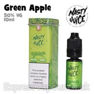 Green Apple - Nasty Juice e-liquid - 50% VG - 10ml