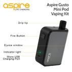 Aspire Gusto Mini Pod Vaping Kit