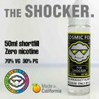 THE SHOCKER - Cosmic Fog premium e-liquid - 70% VG - 50ml