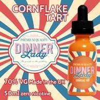 Cornflake Tart - Dinner Lady e-liquids - 70% VG - 50ml