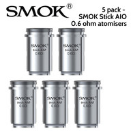 5 pack - SMOK Stick AIO 0.6 ohm atomisers