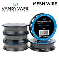 Vandy Vape Mesh wire. Designed to fit Mesh RDAs for example the Vandy Vape Mesh RDA.