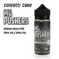 Confetti Cake - MG Pushers e-liquids - 100ml