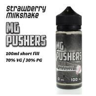 Strawberry Milkshake - MG Pushers e-liquids - 100ml