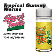 Tropical Gummy Worms - Sweet Tooth e-liquids - 100ml