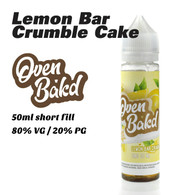 Lemon Bar Crumble Cake - Oven Bak'd e-liquids - 50ml