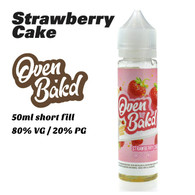 Strawberry Cake - Oven Bak'd e-liquids - 50ml
