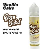 Vanilla Cake - Oven Bak'd e-liquids - 50ml